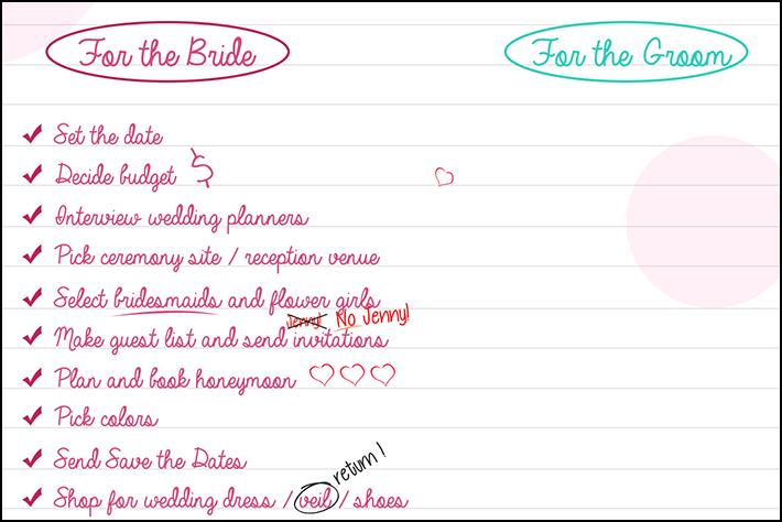 Wedding Planning Checklist — The Groom Has It So Easy ...