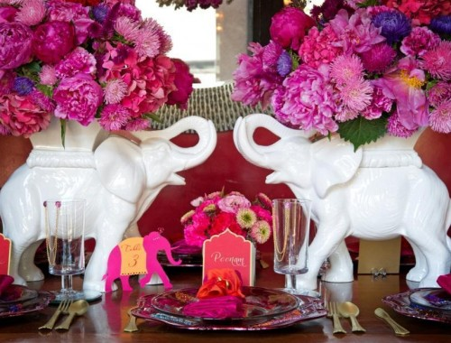 wedding elephant vases