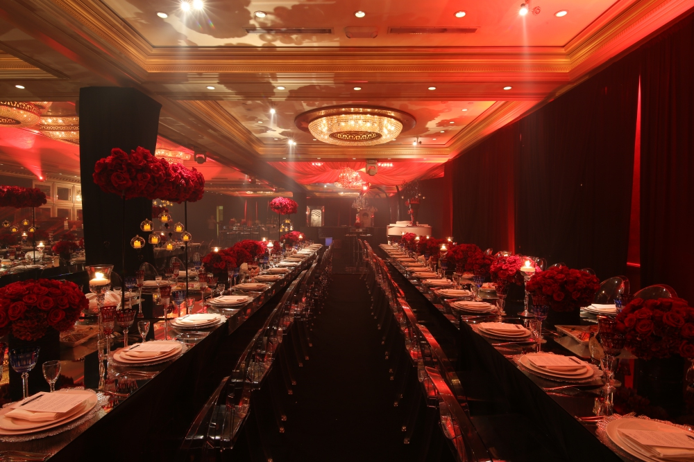 Wedding catering designing