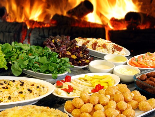 holiday buffet Anoush