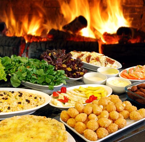 holiday buffet Anoush