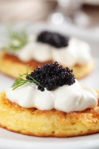 Blini With Caviar Anoush.com