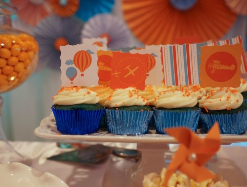 Baby Shower Cupcakes Anoush.com