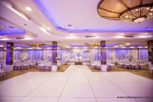White Dance Floor at Brandview Ballroom