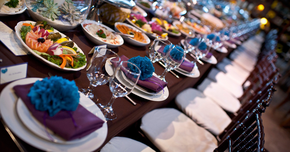 How To Select The Best Wedding Food For Your Reception Anoush