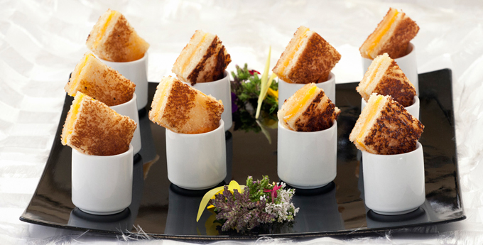 Be sure to do a taste test before deciding on a caterer.